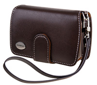 Premium Slim Leather Case - Dark Brown