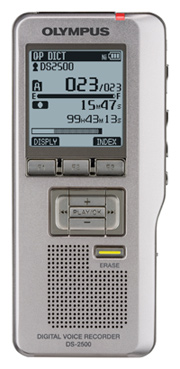 DS-2500 Digital Voice Recorder *FREE SHIPPING*