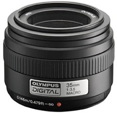 E 35/3.5 ED Zuiko 1:1 Macro Digital Lens For Digital SLR Cameras (52mm) *FREE SHIPPING*