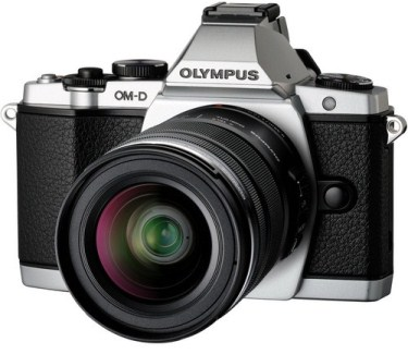 OM-D E-M5 16.1 Megapixel, 3.0 Inch Tiltable OLED LCD Screen Mirrorless Digital Black Camera With 12-50mm Lens Kit - Silver *FREE SHIPPING*