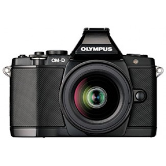 OM-D E-M5 16.1 Megapixel, 3.0 Inch Tiltable OLED LCD Screen Mirrorless Digital Black Camera With 14-42mm Lens Kit - Black *FREE SHIPPING*