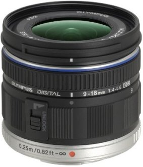 M 9-18/4.0-5.6 ED Zuiko Digital Super Wide Angle Zoom Lens For PEN Micro 4/3 Digital SLR Cameras (52mm) *FREE SHIPPING*