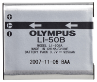 Li-50B Rechargeable Lithium-Ion Battery Pack (3.7v 925mah)