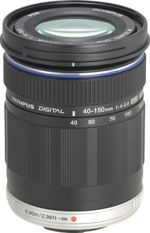 M 40-150mm F/4.0-5.6 ED Zuiko Digital Micro 4/3 Telephoto Zoom Lens - Black *FREE SHIPPING*