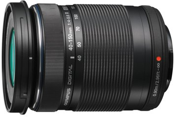 "M 40-150mm F/4.0-5.6 ED ""R' Zuiko Digital Micro 4/3 Telephoto Zoom Lens - Black *FREE SHIPPING*"