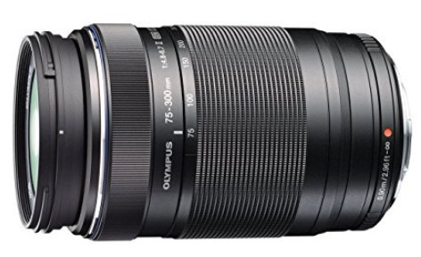 M 75-300mm F/4.8-6.7 II ED Zuiko Digital Micro 4/3 Telephoto Zoom Lens - Black *FREE SHIPPING*