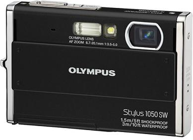 Stylus/Mju 1050SW 10.1 Megapixel, 3x Optical Zoom, 2.7 Inch LCD Screen, Shockproof Waterproof And Freezeproof Digital Camera - Black *FREE SHIPPING*