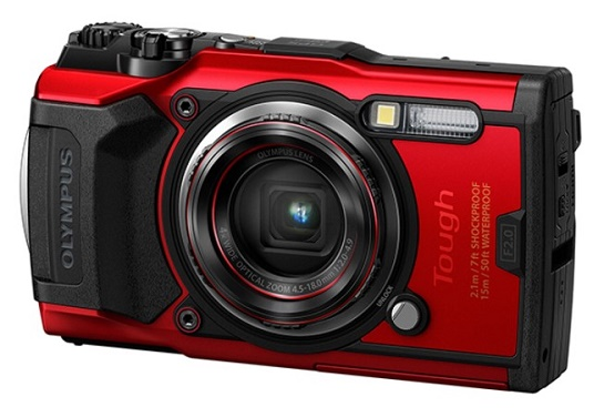 Tough TG-6 12.0 MegaPixel, 4x f/2.0 Opt Zoom, 3.0 In. LCD, Shockproof, Waterproof Crushproof Dustproof & Freezeproof Digital Camera - Red *FREE SHIPPING*