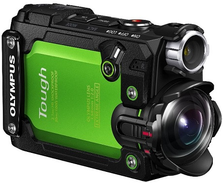 Stylus Tough TG-Tracker Digital Action Camera - Green *FREE SHIPPING*