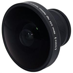 Platinum Series 58mm 0.2X HD Panoramic Fisheye Lens for Digital & Video Cameras *FREE SHIPPING*