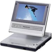Ls-5 Portable 5inch LCD Screen And Built In Stereo Speaker Dvd Player