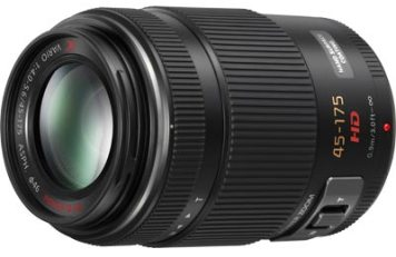 Lumix G X Vario PZ 45-175mm/F4.0-5.6 Lens for Micro 4/3 Digital Cameras *FREE SHIPPING*