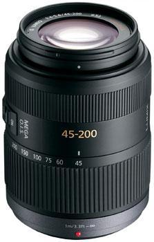 Lumix G Vario 45-200mm F/4.0-5.6 Mega O.I.S. Telephoto Zoom Lens (52mm)