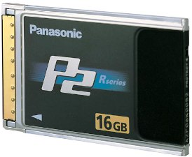 Aj-P2c016rg 16gb P2 High Performance Card For Panasonic P2 Camcorders