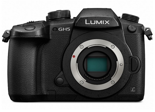LUMIX DC-GH5 20.3 Megapixel, 4K Video Micro 4/3 Mirrorless Digital Camera Body Only *FREE SHIPPING*