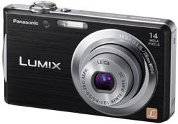 LUMIX DMC-FH2 14.1 megapixel 4x optical 4x digital zoom 2.7inch LCD Digital Camera Black