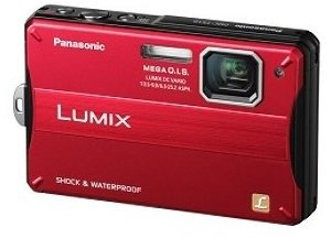 Lumix DMC-TS10R 14.1 Megapixel, 4x Wide Angle Leica Optical Zoom, 2.7 Inch LCD Screen, HD Video, Waterproof, Freezproof, Shockproof And Dustproof Digital Camera - Red *FREE SHIPPING*