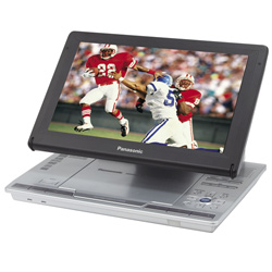 Dvd-Ls90 Portable Dvd-Video Player With Adjustable Built-In 9&Quot; Diagonal Widescreen LCD And Multi-Format Playback