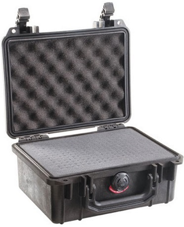 1150 Case with Foam - Black *FREE SHIPPING*