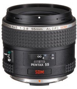 smc -D FA 645 55mm F2.8 AL [IF] SDM AW Standard Lens for 645D Body *FREE SHIPPING*