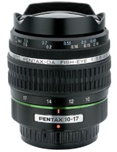 smc P-DA 10-17/3.5-4.5 ED IF Fisheye Zoom Lens For Digital SLRs *FREE SHIPPING*