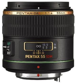 smc P-DA * 55mm F/1.4 SDM Lens For Digital SLRs *FREE SHIPPING*