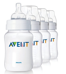 AVENT 105 SCF683/47 BPA Free 9-Ounce 4-Pack Bottle *FREE SHIPPING*