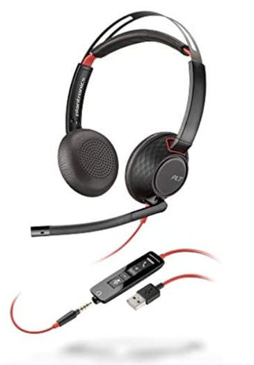 Blackwire C5220 Headset *FREE SHIPPING*