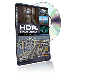 Tutorial DVD HDR and Photoshop (CS5) Second Edition by Colin Smith (4 Hours) *FREE SHIPPING*