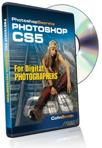 Tutorial DVD Photoshop CS5 for Digital Photographers by Colin Smith (7 Hours) *FREE SHIPPING*