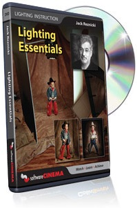 Lighting Essentials  DVD VIDEO by Jack Reznicki (Total Run Time: 53:43) *FREE SHIPPING*