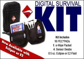 IK-1 Digital Survival Kit With Type 1 Swabs & Eclipse Cleaning Solution *FREE SHIPPING*