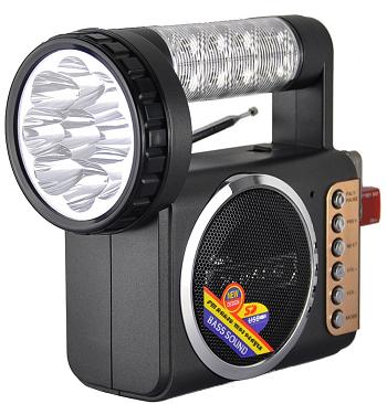 R57USR Portable FM Radio With Flashlight *FREE SHIPPING*