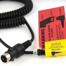 CZ2 Locking Power Cable For Canon & Nissin Flashes *FREE SHIPPING*