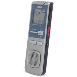 VR5330R 2GB Digital Voice Recorder With Built-In USB Arm