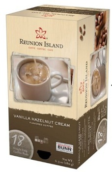 RI58306 Vanilla Hazelnut Cream Single Cup Coffee Pods, 18-Count *FREE SHIPPING*