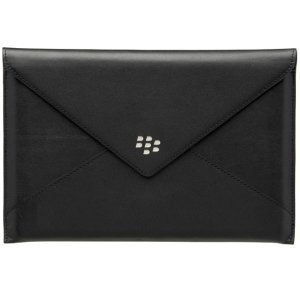 Leather Envelope Case for BlackBerry PlayBook - Black *FREE SHIPPING*