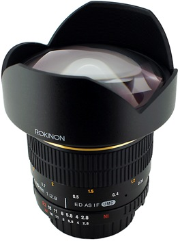 14mm f/2.8 IF ED MC Aspherical Super Wide Angle Fisheye Lens For Canon EOS *FREE SHIPPING*