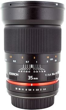 35mm f/1.4 Wide Angle Lens For Canon (77mm) *FREE SHIPPING*