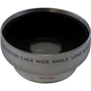58mm 0.45x Wide Angle Lens Attachment For Digital Still & Video Cameras *FREE SHIPPING*