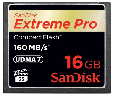 16GB Extreme Pro UDMA 7 Compact Flash Memory Card (Up to 160MB/150MB/s) *FREE SHIPPING*