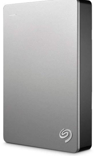 STDS1000301 Backup Plus 1TB SuperSpeed USB Slim Drive - Silver *FREE SHIPPING*