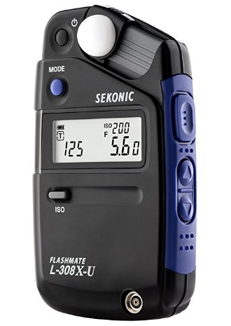 L-308X-U Flashmate Digital Light Meter *FREE SHIPPING*