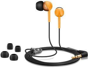 CX 215 Ear-Canal Headphones - Orange *FREE SHIPPING*
