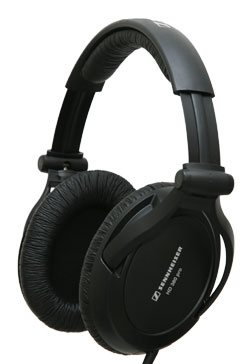 HD-380 Pro Collapsible Headphones- Black *FREE SHIPPING*