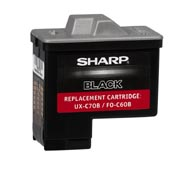 Black Ink Cartridge For Sharp Ux-B700 Plain Paper Fax