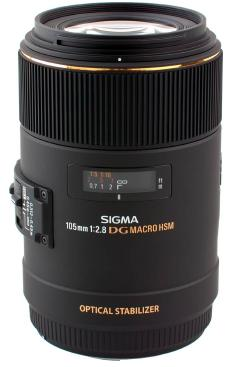 105/2.8 EX DG OS HSM Macro Lens For Canon EOS (62mm) *FREE SHIPPING*