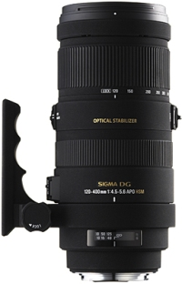 120-400/4.5-5.6 APO DG OS Optical Stabilized HSM Telephoto Zoom Lens For Sigma (77mm) *FREE SHIPPING*