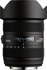 12-24mm F4.5-5.6 II DG HSM Aspherical Wide Angle Zoom Lens For Nikon *FREE SHIPPING*