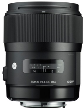 35mm f/1.4 ART DG HSM Prime Lens For Nikon (67mm) *FREE SHIPPING*